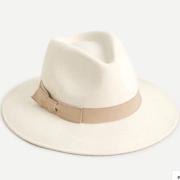 NWT Jcrew Western Hat w/Grosgrain Trim